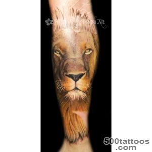 Lucky Bamboo Tattoo  Tattoos  Jared Preslar  Lion Tattoo in _44