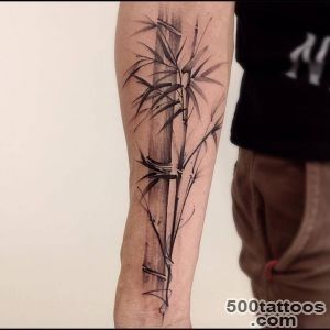 Tattoo Filter — Sketchy bamboo tattoo on the right inner forearm_5