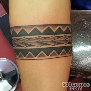 23+ Tribal Band Tattoo Designs, Ideas  Design Trends_34