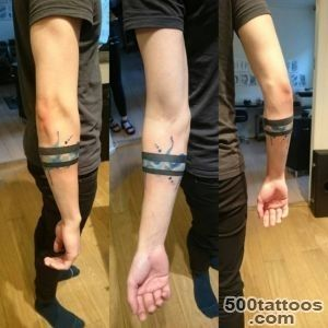 30 Significant Armband Tattoo Meaning and Designs_37