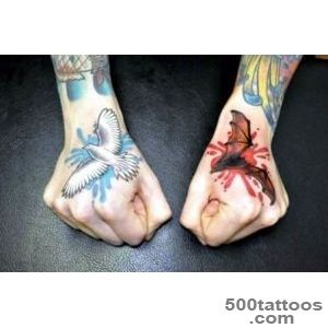 30 Cool Bat tattoo Designs For Men and Women_40