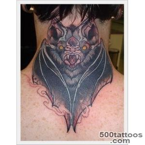 30 Stunning Bat Tattoo Designs_28