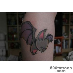 bat tattoo  used a Kurt Halsey bat as reference this was th…  Flickr_45