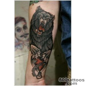 35 Bear Tattoo Designs for Your Animalistic Side_6