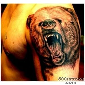 35 Bear Tattoo Designs for Your Animalistic Side_8
