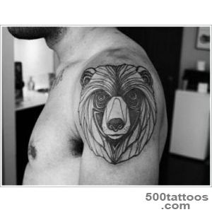 35 Bear Tattoo Designs for Your Animalistic Side_10