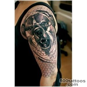 35 Bear Tattoo Designs for Your Animalistic Side_14