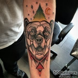50 Best Bear Tattoos_9