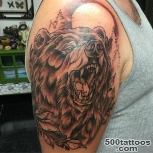 50 Best Bear Tattoos_16