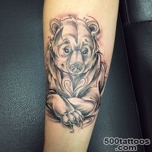 50 Best Bear Tattoos_19