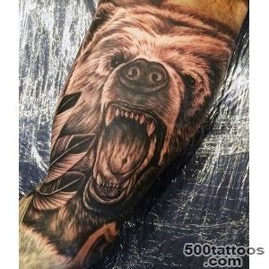 60 Bear Tattoo Designs For Men   Masculine Mauling Machine_38