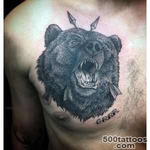 60 Bear Tattoo Designs For Men   Masculine Mauling Machine_48