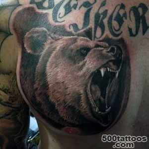 60 Bear Tattoo Designs For Men   Masculine Mauling Machine_49