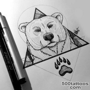 Bear Tattoo by MaryMaryLPdeviantartcom on @deviantART  tattoo _17