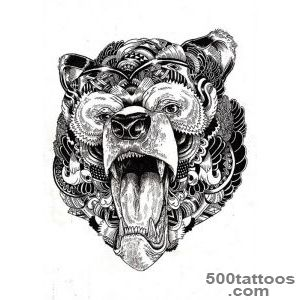 Bear Tattoo Images amp Designs_26