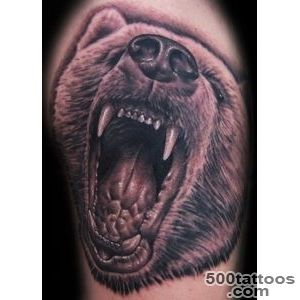 Bear Tattoos, Designs And Ideas  Page 2_36
