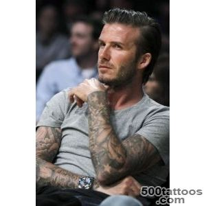 David BeckhamI LOVVEE his tattoo sleeves D  {Muy~Caliente _31