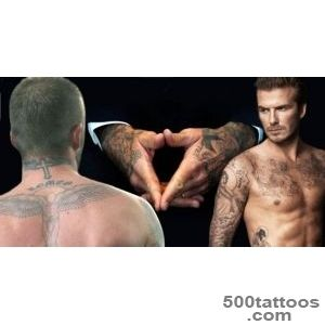 David Beckham has spent #39?55K on tattoos#39, from tributes to his _2