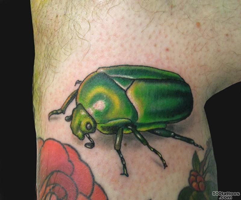 29+ Mind Blowing Beetle Tattoo Images, Pictures And Photos Ideas_19