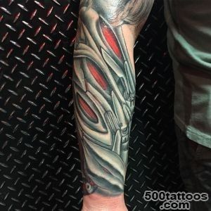 30 Best Photo Patterns Of Biomechanical Tattoos_7
