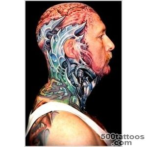 35 Bio Mechanical Tattoo Designs_29