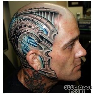 35 Bio Mechanical Tattoo Designs_35