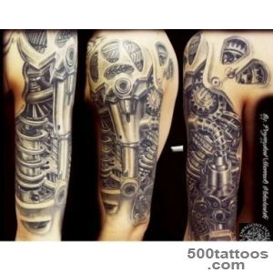 Another 7 Impressive Biomechanical Tattoos   Uphaacom  Skin deep _14