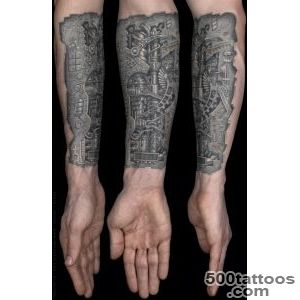 Biomechanical Tattoo Images amp Designs_27