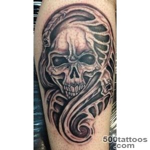 Bio Skull Tattoo by LucidPetroglyphs666 on DeviantArt_45