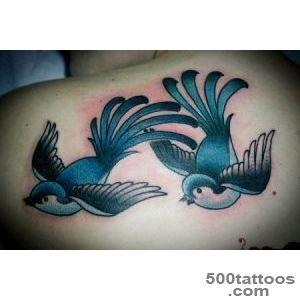 50 Lovely Bird Tattoo Designs  Art and Design_33