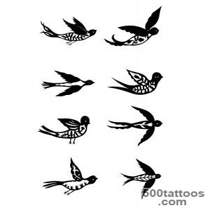 Bird Tattoos, Designs And Ideas  Page 12_13
