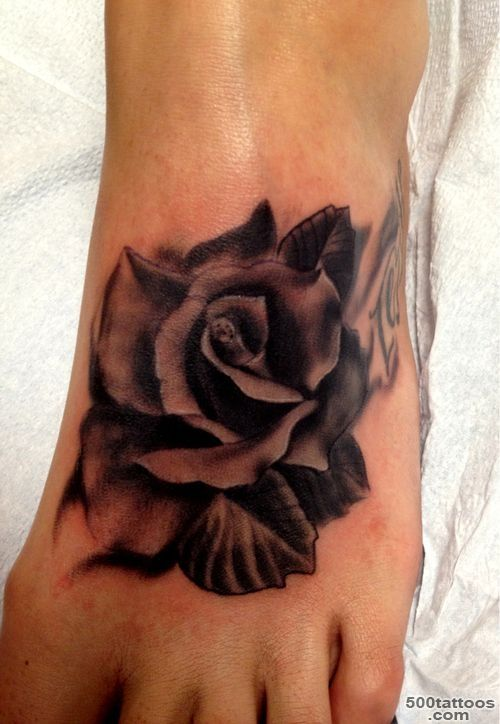 Black rose tattoo: photo num 8380