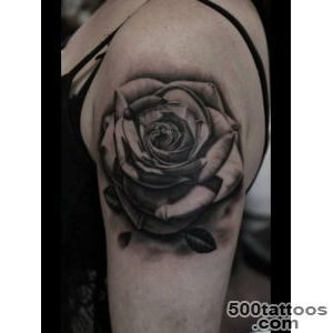 30 Black Rose Tattoo Designs, Images And Picture Ideas_10