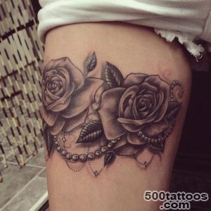 30 Black Rose Tattoo Ideas   Tattoos Mob_40