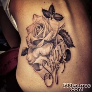 40+ Most Beautiful Black Rose Tattoo Images_37