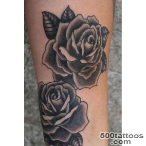 Black And White Rose Tattoos for Women  Tattoos  Pinterest _41