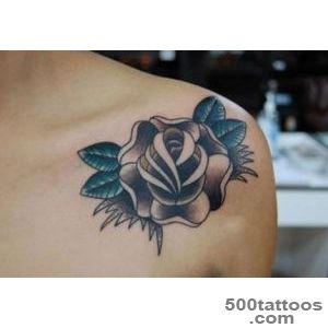 Black Rose Tattoo Designs with New Tattoo Ideas_46