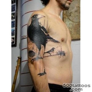 60+-Mysterious-Raven-Tattoos--Art-and-Design_41jpg