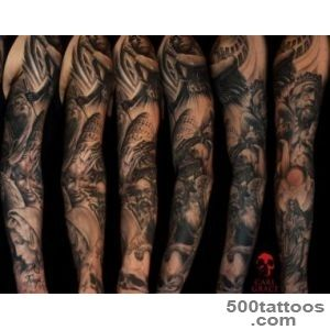TATTOO-LOVERS-50-SHADES-OF-BLACK-amp-GREY-TATTOOS--Tattoo-Sleeves-_47jpg