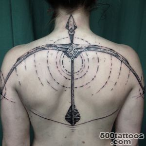 Back Armed Bow Tattoo  Best Tattoo Ideas Gallery_39