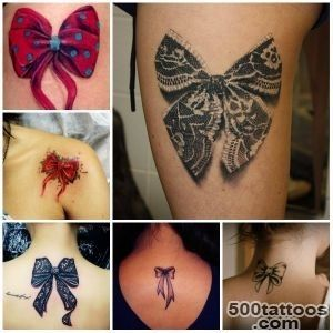 Cutest Bow Tattoo Designs for Girls  Tattoo Ideas Gallery _40
