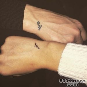 60 Brother Sister Tattoo That Will Melt Your Heart_27