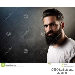 Stock Image Brutal bearded man with tattoos Image 44250321_49