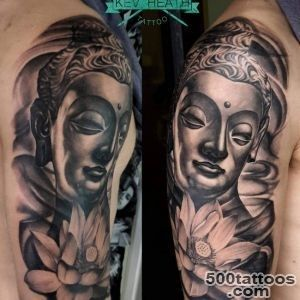 60+ Meaningful Buddha Tattoo Designs for Buddhist and not Only_6