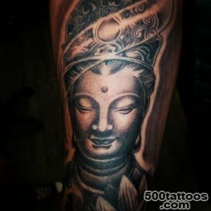 60+ Meaningful Buddha Tattoo Designs for Buddhist and not Only_23