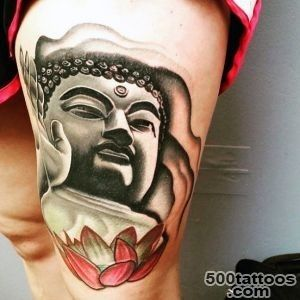 100 Buddhist Tattoos For Men   Buddhism Design Ideas_31