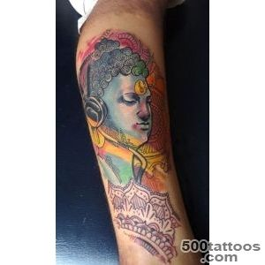 131 Buddha Tattoo Designs That Simply Get it Right_39