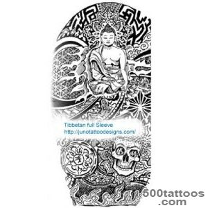 TIBETAN BUDDHIST TATTOOS   Meaning amp tattoo designer_48