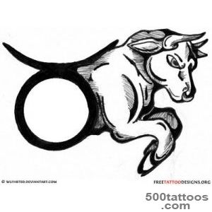 Bull Tattoo Art  50 Taurus Tattoos_24