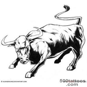 Bull Tattoo Art  50 Taurus Tattoos_38